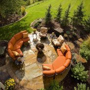 No room for a fire pit? How about a fire bowl?