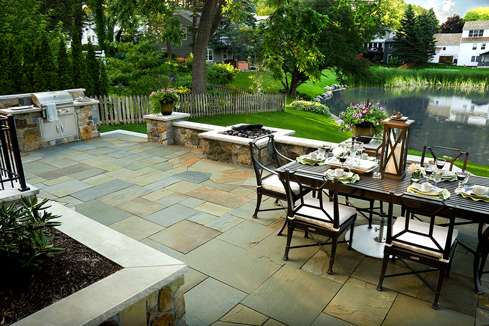Edina landscaping by Magnolia design